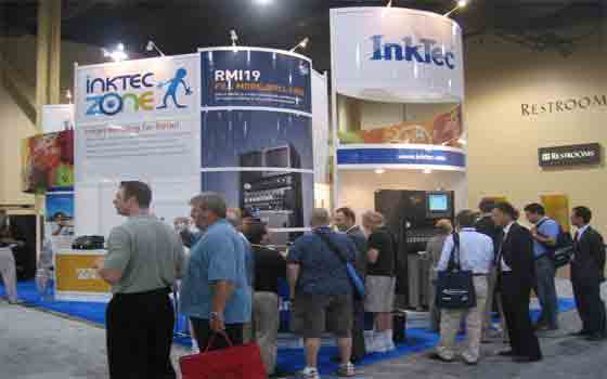 InkTec در نمایشگاه ۲۰۰۶-Las Vegas امریکا
