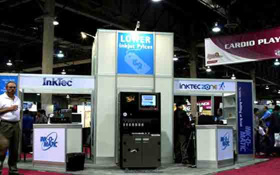 InkTec در نمایشگاه ۲۰۰۶- Sands Expo Convention Center Las Vegas -امریکا