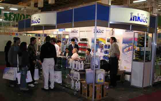 InkTec در نمایشگاه ۲۰۰۵ - Sao Paulo برزیل