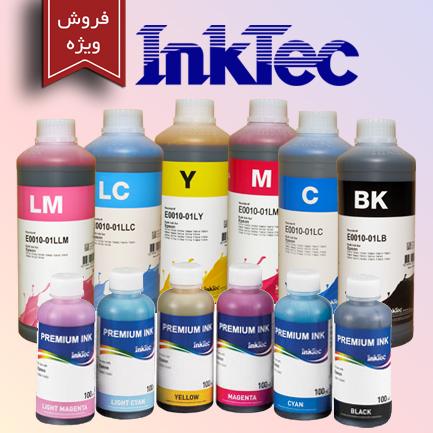 فروش ویژه جوهر InkTec