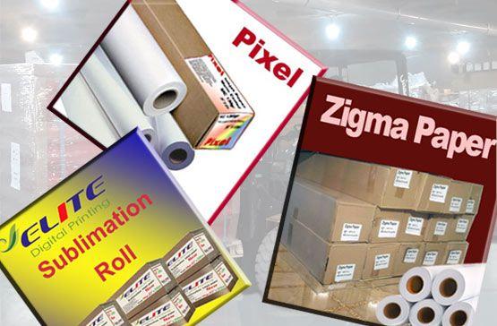 کاغذ سابلیمیشن | بهترین کاغذ سابلیمیشن | کاغذ Zigma