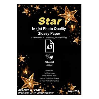 کاغذ فتو گلاسه 120 گرم آ3