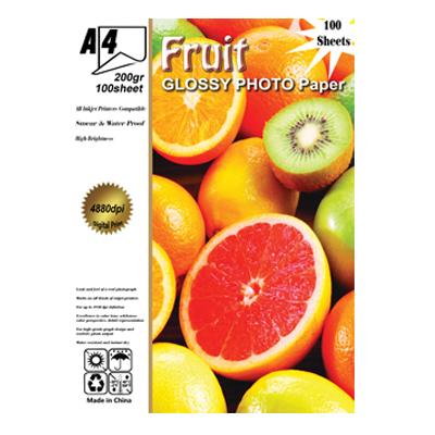 فتو گلاسه 200 گرم fruit