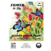 کاغذ فتو گلاسه 200 گرم flower