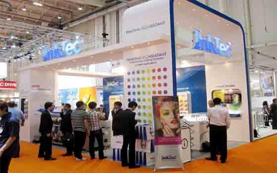 InkTec در نمایشگاه ۲۰۱۱ - LasVegas امریکا