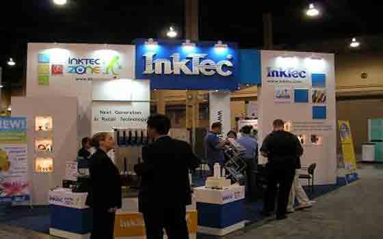 InkTec در نمایشگاه ۲۰۰۵ -Mandalay Bay Convention Center, LV. USA